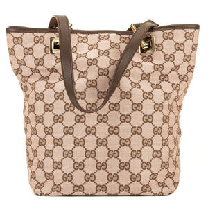 Gucci GG Jacquard Small Bucket Tote (3970008)